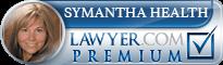 Symantha L. Heath  Lawyer Badge