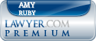 Amy Marie Ruby  Lawyer Badge