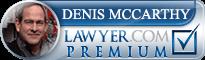 Denis J. McCarthy  Lawyer Badge