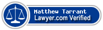 Matthew Arthur Tarrant  Lawyer Badge