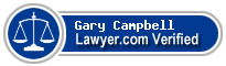 Gary R. Campbell  Lawyer Badge