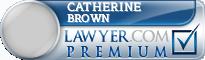Catherine J. Brown  Lawyer Badge