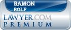 Ramon F. Rolf  Lawyer Badge