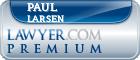 Paul R. Larsen  Lawyer Badge