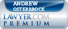 Andrew Carl Osterbrock  Lawyer Badge