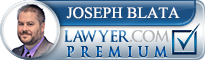 Joseph J. Blata  Lawyer Badge
