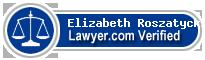 Elizabeth A. Roszatycki  Lawyer Badge