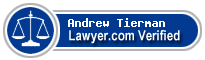 Andrew Jay Tierman  Lawyer Badge