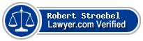 Robert J. Stroebel  Lawyer Badge