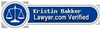Kristin M. Bakker  Lawyer Badge