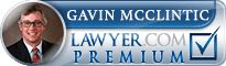Gavin W. McClintic  Lawyer Badge