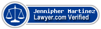 Jennipher R. Martinez  Lawyer Badge