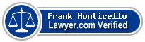 Frank J. Monticello  Lawyer Badge