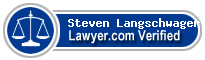 Steven H. Langschwager  Lawyer Badge