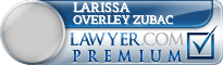 Larissa Ann Overley Zubac  Lawyer Badge