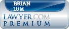 Brian M. Lum  Lawyer Badge