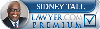Sidney Tall  Lawyer Badge