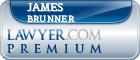 James E. Brunner  Lawyer Badge