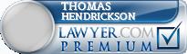 Thomas J. Hendrickson  Lawyer Badge