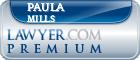 Paula Hosick Mills  Lawyer Badge