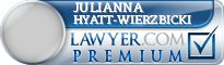 Julianna Marie Hyatt-Wierzbicki  Lawyer Badge