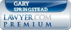 Gary K. Springstead  Lawyer Badge