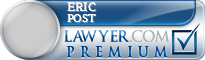 Eric R. Post  Lawyer Badge
