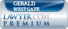Gerald Zehnder Westgate  Lawyer Badge