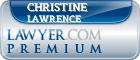 Christine M. Lawrence  Lawyer Badge