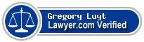 Gregory Michael Luyt  Lawyer Badge