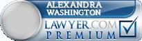 Alexandra Chrysanthe Washington  Lawyer Badge