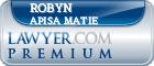 Robyn M. Apisa Matie  Lawyer Badge