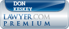 Don L. Keskey  Lawyer Badge