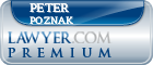 Peter A. Poznak  Lawyer Badge