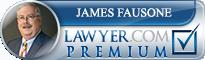 James G. Fausone  Lawyer Badge
