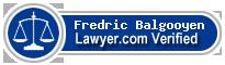 Fredric F. Balgooyen  Lawyer Badge