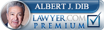 Albert J. Dib  Lawyer Badge