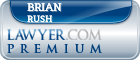 Brian J. Rush  Lawyer Badge