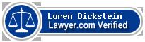 Loren M. Dickstein  Lawyer Badge