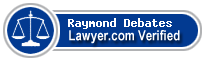 Raymond Debates  Lawyer Badge