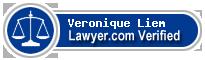 Veronique Liem  Lawyer Badge