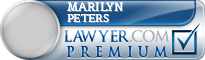 Marilyn A. Peters  Lawyer Badge