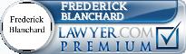 Frederick N. Blanchard  Lawyer Badge
