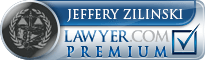 Jeffery S. Zilinski  Lawyer Badge