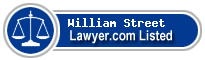 William Street Lawyer Badge
