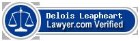 Delois T. Leapheart  Lawyer Badge