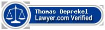 Thomas W. Deprekel  Lawyer Badge