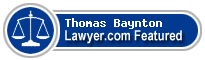 Thomas B. Baynton  Lawyer Badge