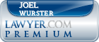 Joel D. Wurster  Lawyer Badge