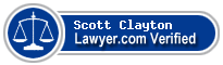 Scott H. Clayton  Lawyer Badge